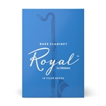 Royal Bass Clarinet Reeds, Box of 10