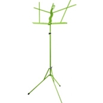 Primo Music Stand with Bag - Lime Green