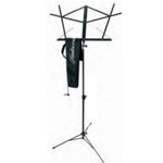 Hamilton Sheet Music Stand with Bag, Black