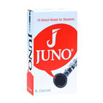 Juno Bb Clarinet Reeds 10-Pack (Strength 2)