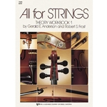 All For Strings Theory Workbook  Violin