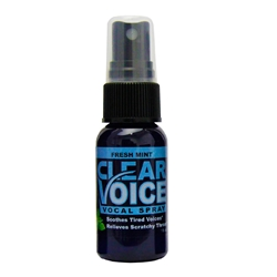 Clear Voice Vocal Spray - Fresh Mint