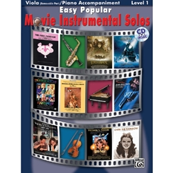 Easy Popular Movie Instrumental Solos for Viola