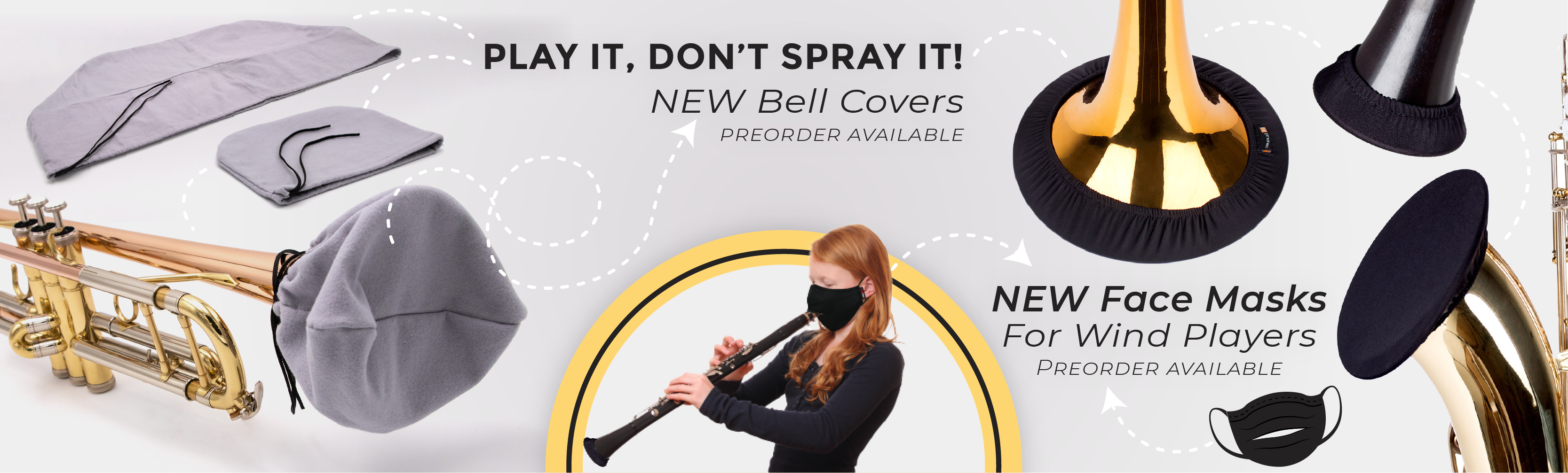 Bell Covers and Masks